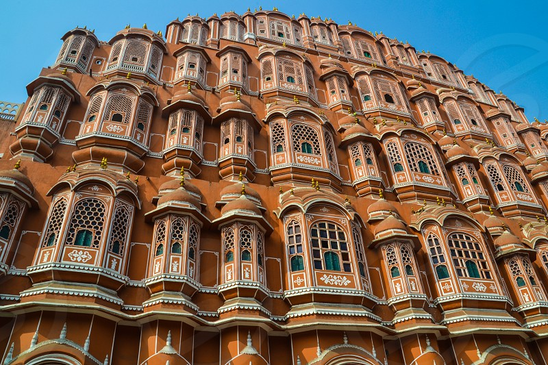 Palace of the Wind in Jaipur India photo