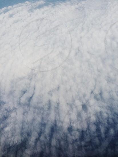 white clouds under blue sky photo