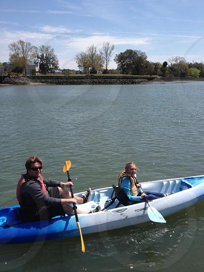 Kayaking fun photo