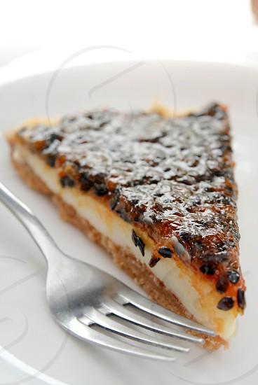 Piece of pie. photo