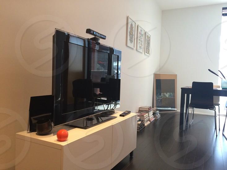 Interior with tv photo