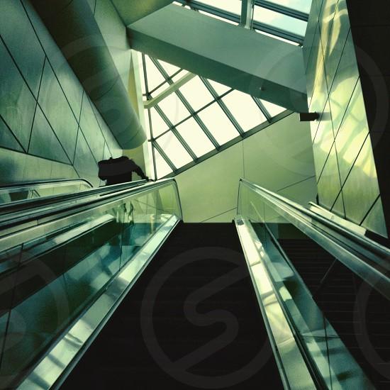 black escalator  photo