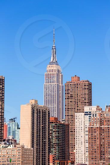 Empire State Building in Manhattan New York City USA photo