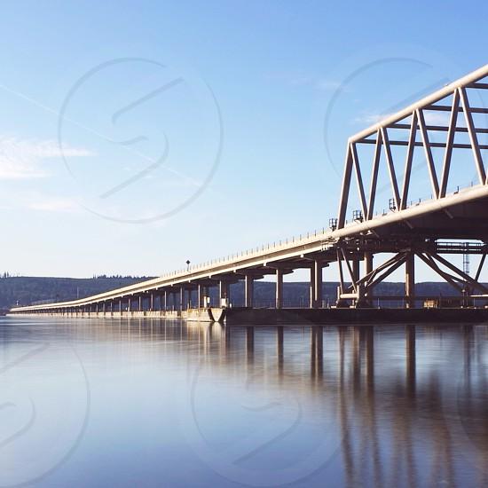 grey bridge photo
