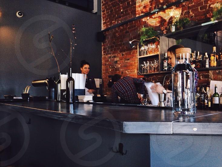 Enzo cafe. Minsk belarus photo