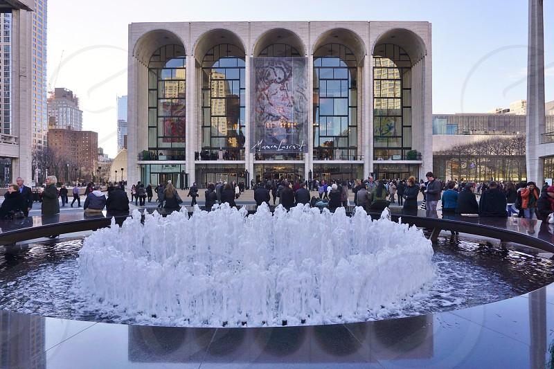 Metropolitan Opera House - Lincoln Center Upper West Side New York City photo