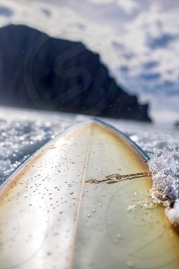 Vibrant surf ocean  photo