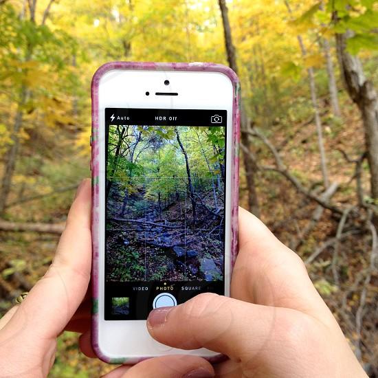 white iphone 4 photo