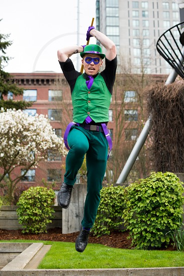 The Riddler at Emerald City Comicon 2014 photo