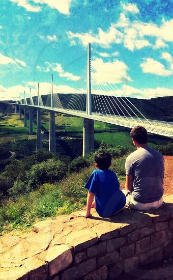 Millau Viaduct France photo