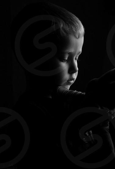 Boy portrait kids  photo