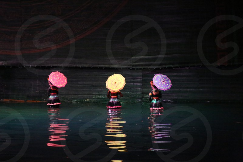 Water Paint: Hanoi Water Puppet Show photo