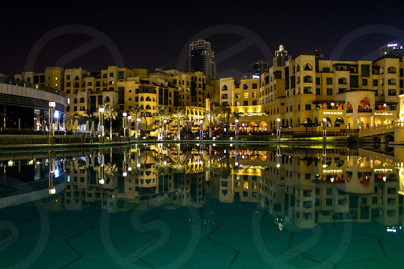 In the center of Dubai photo