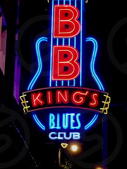 Bb king beale memphis photo