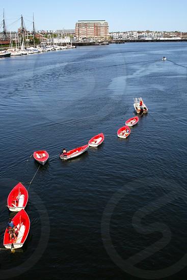 Boat Boston Red photo