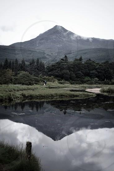 Goatfell mountain on Arran  photo