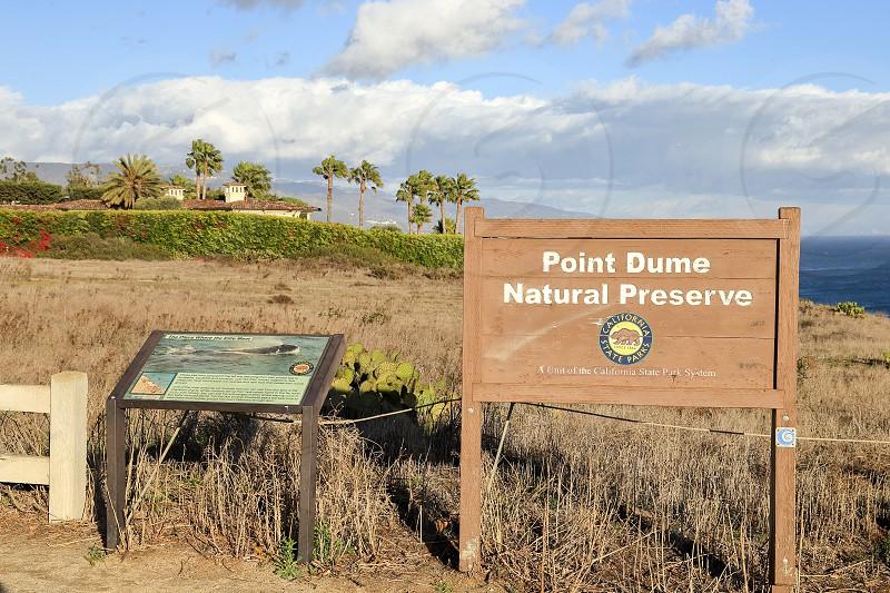 Point Dume Natural Preserve Malibu California  photo