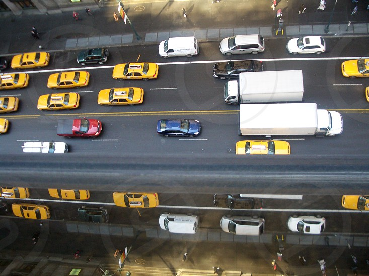 New York City Yellow Taxis photo