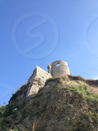 Old Ancient Castle in Ortona Abruzzo Italy photo