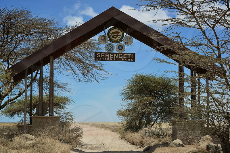 Entrance to Serengeti National Park - Tanzania photo