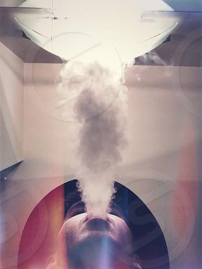 Smoking in Mirrors photo