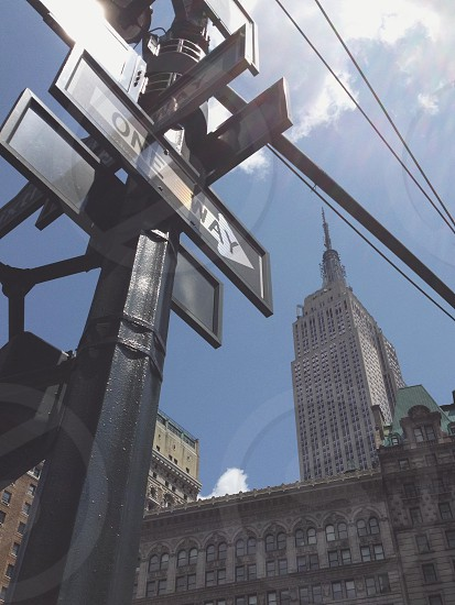 Empire State State of Mind.  photo