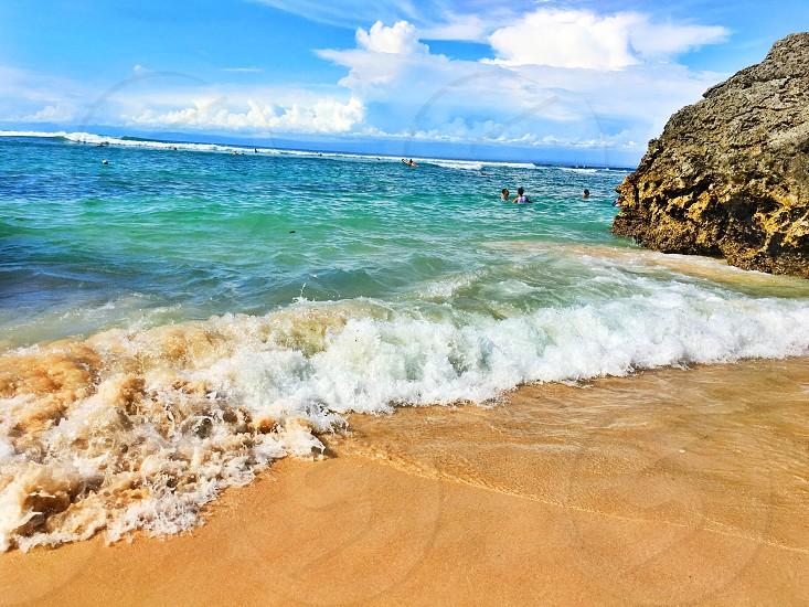 Padang padang beach  Bali-Indonesia photo