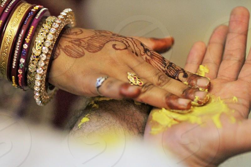 haldi ceremony for groom Mehndi wedding haldi turmeric before marriage wedding Indian wedding photo