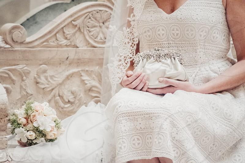 bridal fashion shoot photo