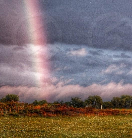 rainbow in the sky photo