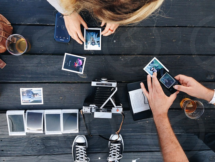 iPhones shooting instant images photo