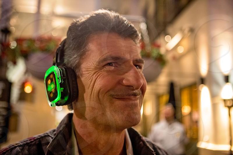 Baby Boomer Birthday Celebration Headset at Silent Disco photo