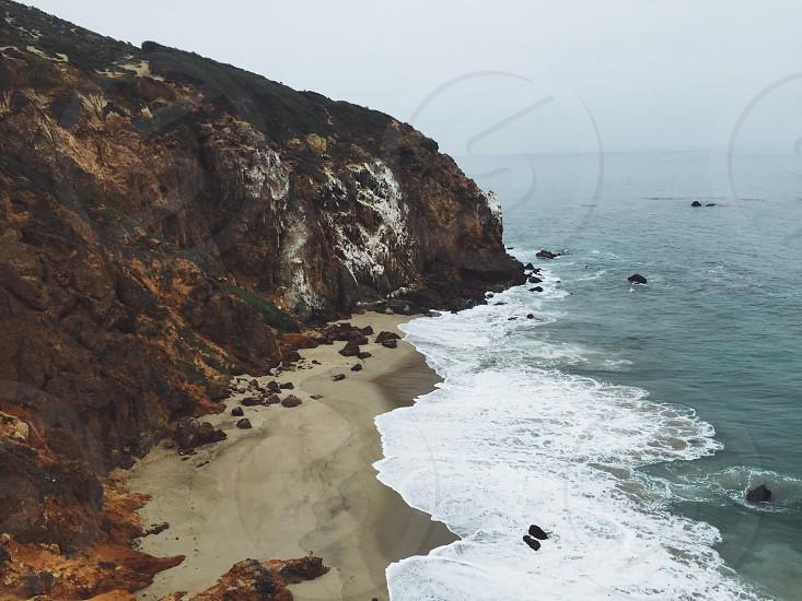 Pirate's Cove in Malibu California  photo
