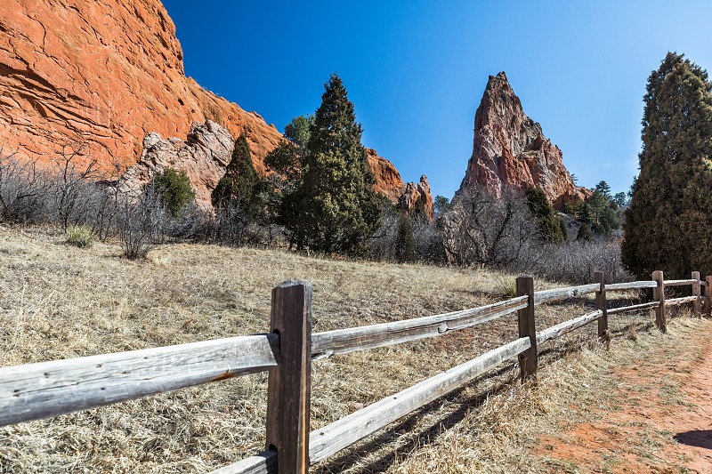 Impressions from the garden of the gods near colorado springs photo