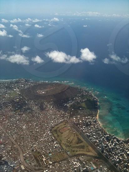 Diamond Head in Honolulu photo