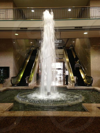 Water fountain indoors photo