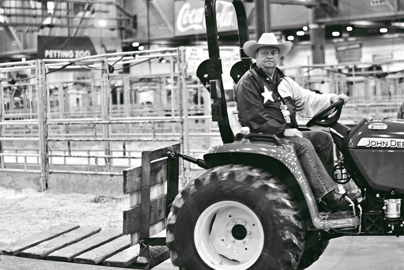 Rodeo worker photo