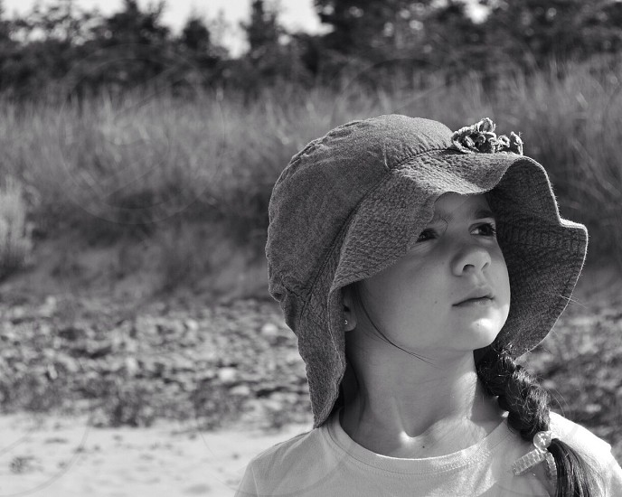 girls cotton bucket hat photo
