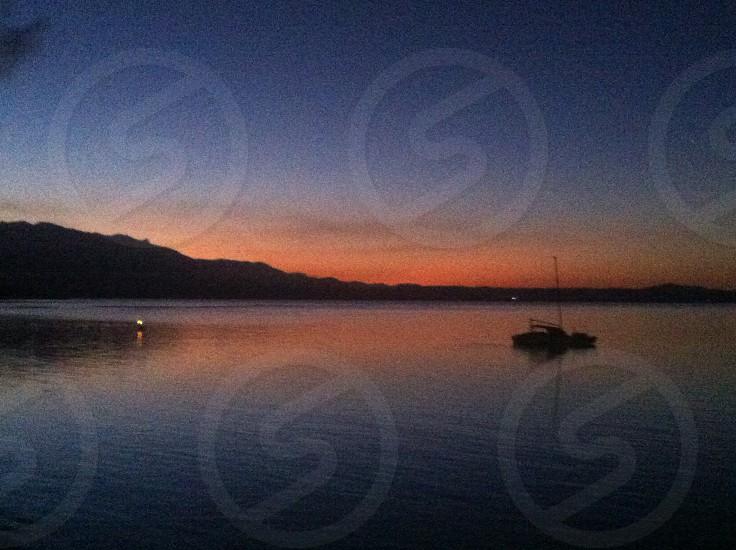 Sunset at Port Douglas photo