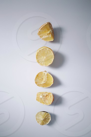 yellow lemon photo