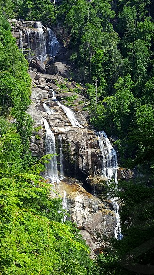 Whitewater Falls NC U.S.A photo