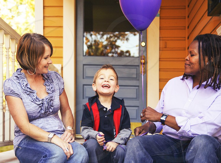 african american balloon beautiful being black boy caring deck family female filter girl happiness happy house human interracial joy keys  love mixed non people person porch pretty  retro same solid son stable toned traditional vintage white women young  photo