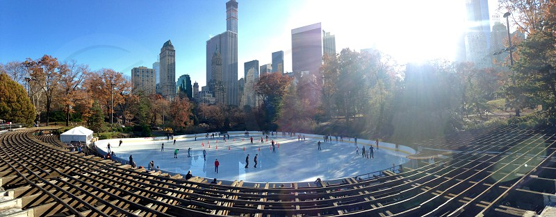 Central Park Ice Skating photo