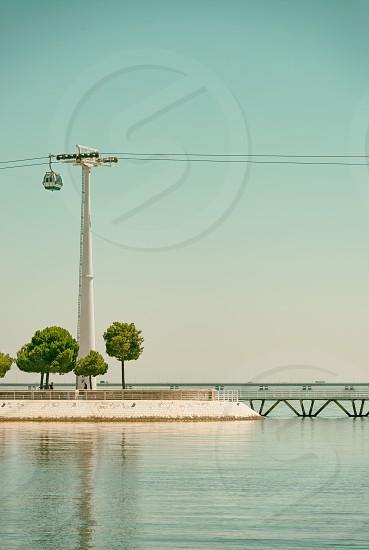 Gondola railway in Portugal (Europe) photo
