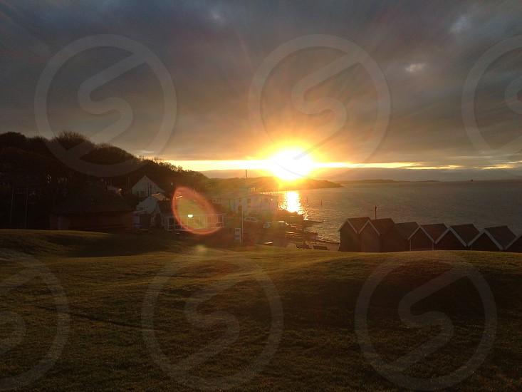 Gurnard Sunset Sun Sunshine Beautiful photo