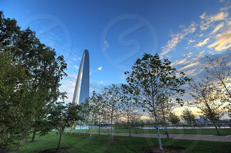 Gateway Arch in St. Louis Missouri photo