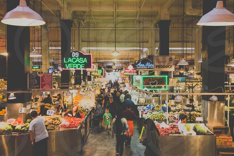 Grand Central Market Los Angeles photo