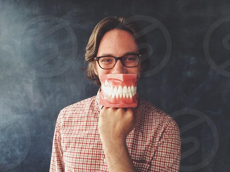 Big mouth model photo