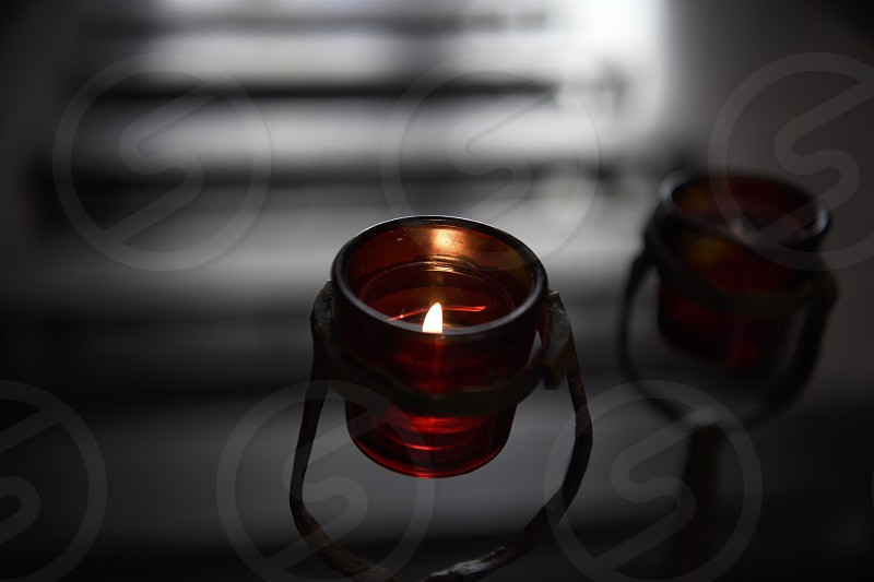 Candles of remembrance for many. photo