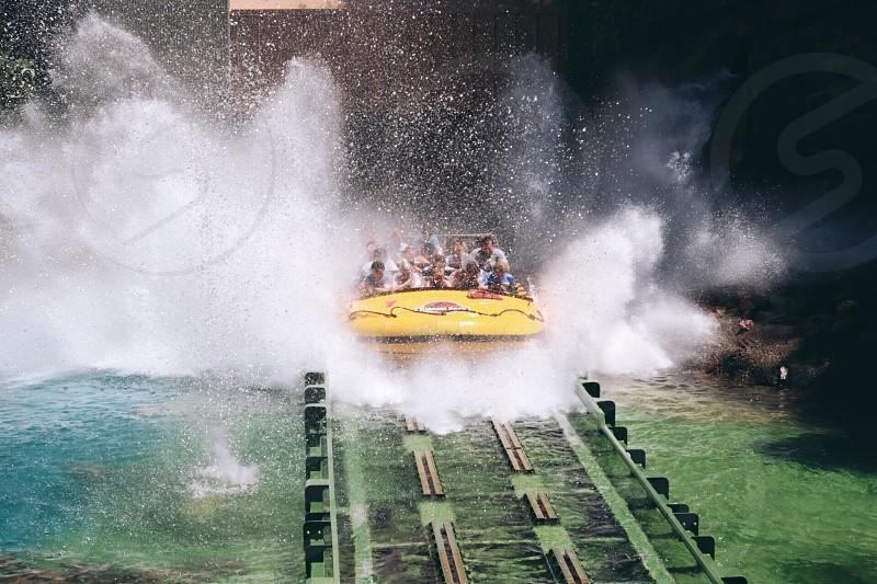 water splash themed park photo
